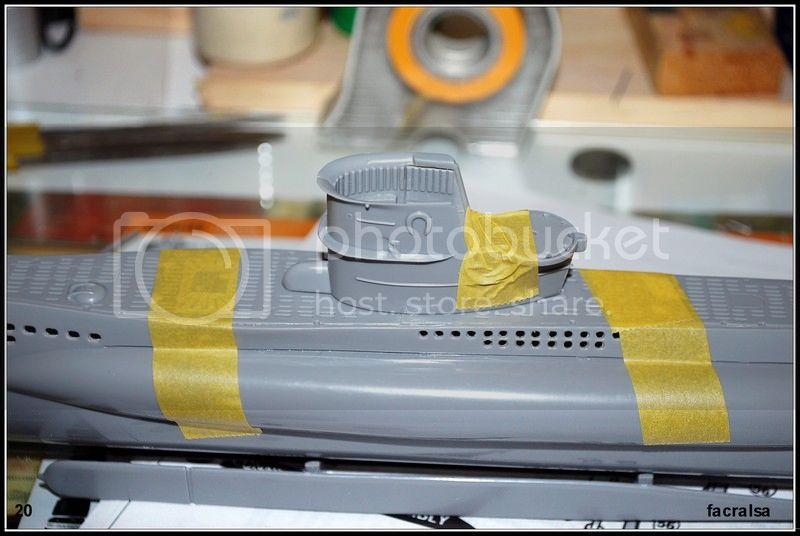 GERMAN SUBMARINO U-99 (Revell 1/125) U-99%2020