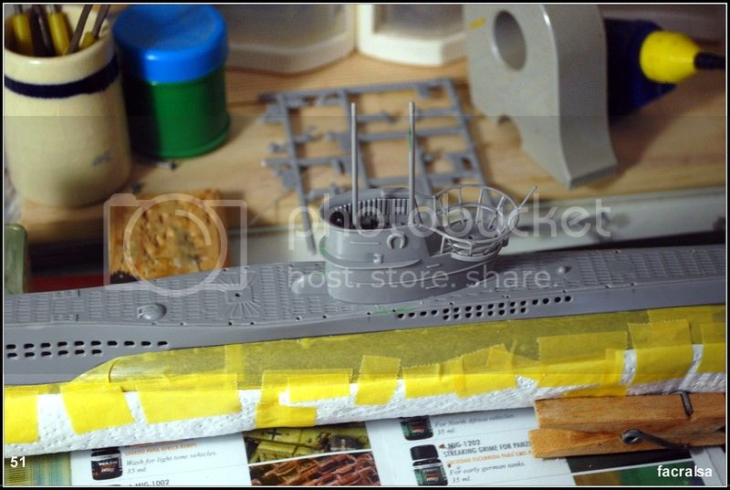 GERMAN SUBMARINO U-99 (Revell 1/125) U-99%2051