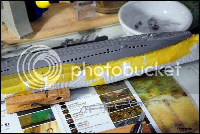 GERMAN SUBMARINO U-99 (Revell 1/125) U-99%2053