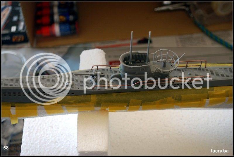 GERMAN SUBMARINO U-99 (Revell 1/125) U-99%2058