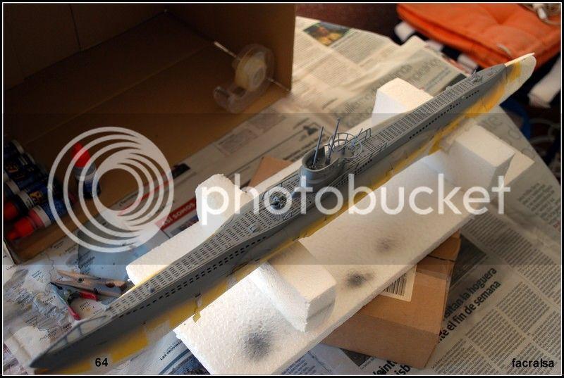 GERMAN SUBMARINO U-99 (Revell 1/125) U-99%2064