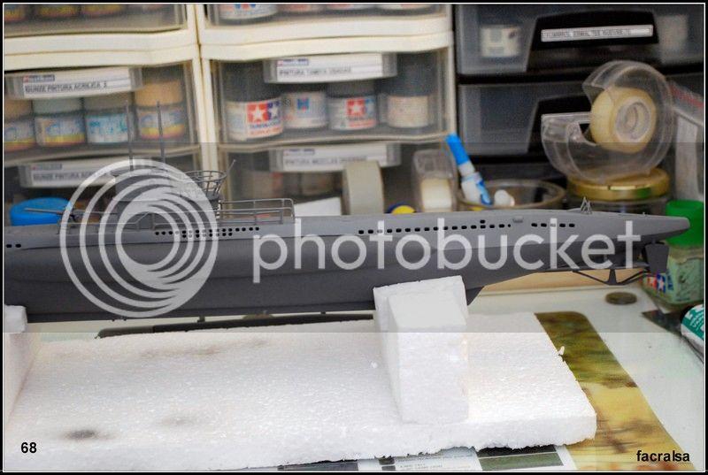 GERMAN SUBMARINO U-99 (Revell 1/125) U-99%2068
