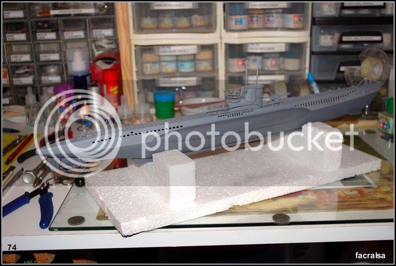 GERMAN SUBMARINO U-99 (Revell 1/125) U-99%2074