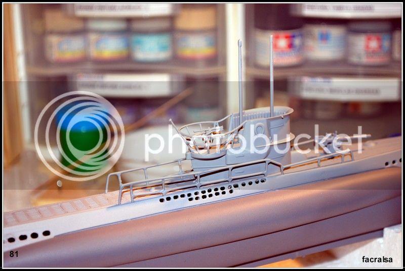 GERMAN SUBMARINO U-99 (Revell 1/125) U-99%2081