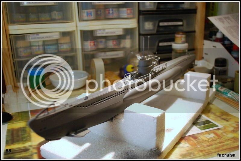 GERMAN SUBMARINO U-99 (Revell 1/125) U-99%2088