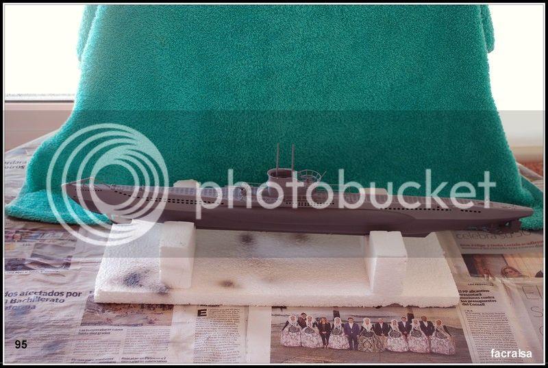 GERMAN SUBMARINO U-99 (Revell 1/125) U-99%2095