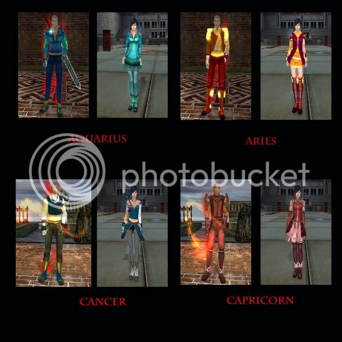 THE ZODIAC ARMOR SETS Sets1-1