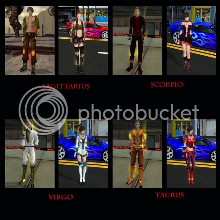 THE ZODIAC ARMOR SETS Sets3-1