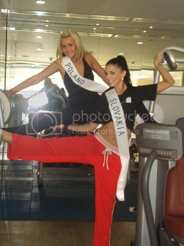 Sona Skoncova - Miss Slovak Republic International 2009 (Official Thread) - Page 3 Gym2