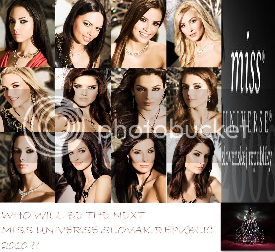 MISS UNIVERSE SLOVAK REPUBLIC 2010 - LIVE -ANNA AMENOVA !!!!!!!! Miss