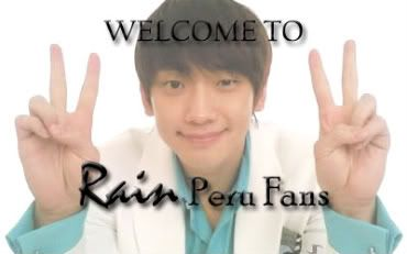 Rain en el Twitter WELCOME