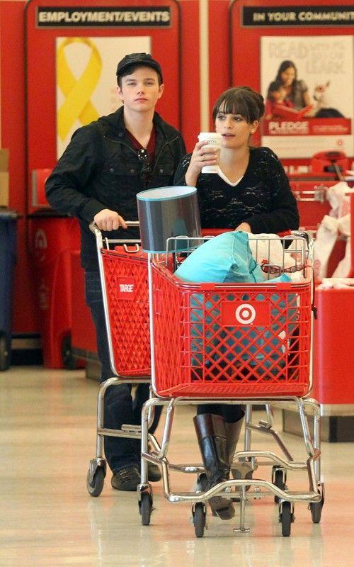 Lea, Chris and Amber go shopping Lea-michele-110310-6