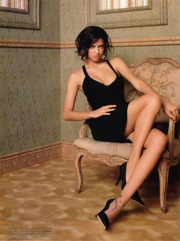 巴西國際名模 Adriana Lima Pictures, Images and Photos