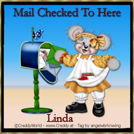~ ♥ LINDA'S (Sunnluvver) MAILBOX ♥ ~ - Page 2 CreddyWorldCreddyMailCheckedLinda
