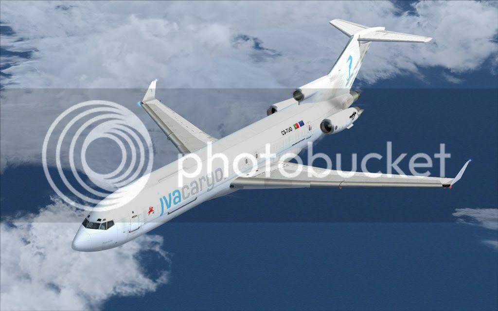 Boeing 727-200F Super 27 - LPMA-GVSV-LPAZ Fsscr174
