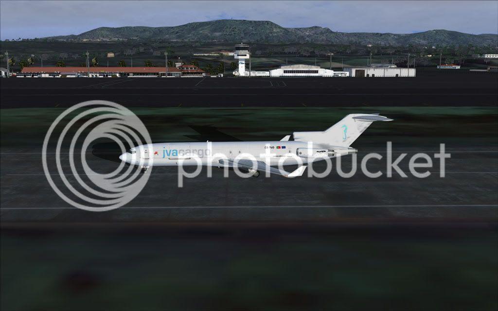 Boeing 727-200F Super 27 - LPMA-GVSV-LPAZ Fsscr179