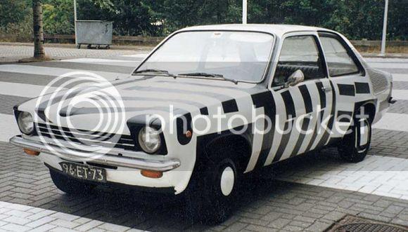 Come rovinare una Ritmo Patricia_Van_Lubeck_Art_Car_Central_Opel-Kadett3_zps659692ba