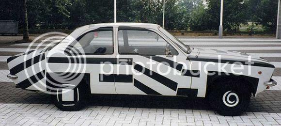 Come rovinare una Ritmo Patricia_Van_Lubeck_Art_Car_Central_Opel-Kadett_zpsfdb7cdb5