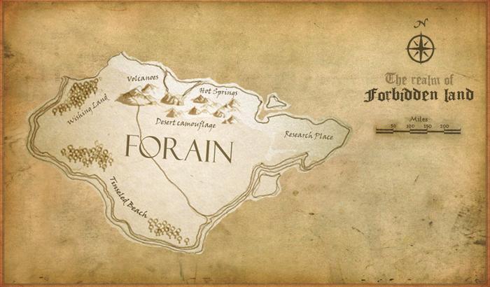 "QC1-001 [ตามหา ""ราบาวูฟ ฟิชเทล""] Map_Forain"
