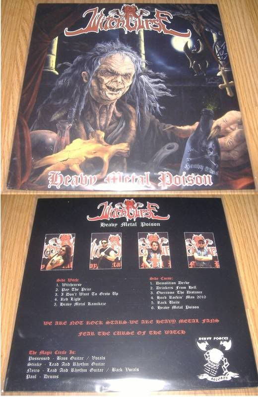 HEREGE WARFARE PROD. - Heavy Metal tape label & distro - DESASTER + + NOCTURNAL + INFERIVM+ GEHENNAH - Página 2 Witchcurse