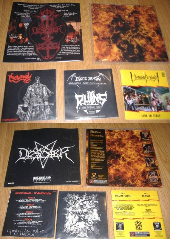 HEREGE WARFARE PROD. - Heavy Metal tape label & distro - DESASTER + + NOCTURNAL + INFERIVM+ GEHENNAH - Página 3 Discos