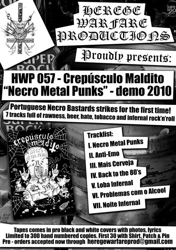 HEREGE WARFARE PROD. - Heavy Metal tape label & distro - DESASTER + + NOCTURNAL + INFERIVM+ GEHENNAH - Página 2 Flyer