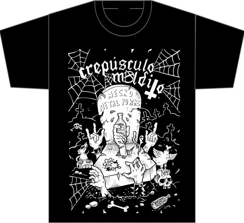 HEREGE WARFARE PROD. - Heavy Metal tape label & distro - DESASTER + + NOCTURNAL + INFERIVM+ GEHENNAH - Página 2 T-shirt_frente