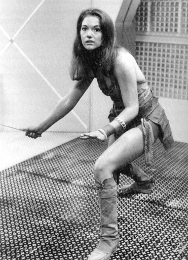 John Bloomfield costume designs Leela in Dr. Who Leela1
