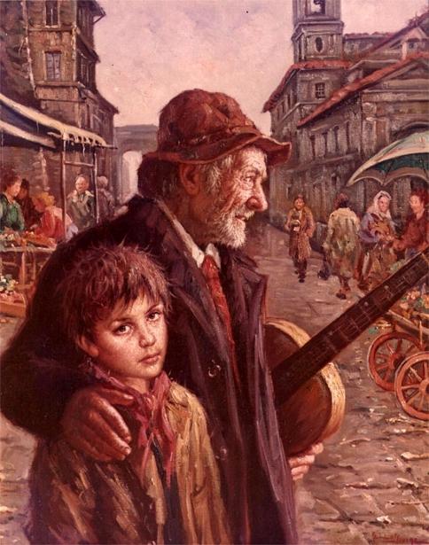 Nello Iovine 1935  Il-suonatore-ambulante-the-street-musician