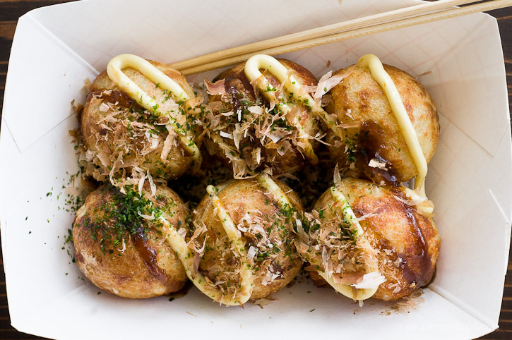 La cuisine japonaise Takoyaki-6
