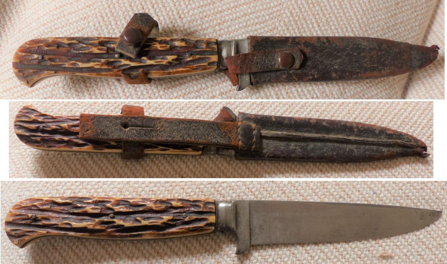 Couteau de chasse allemand possible utilisation couteau de tranchée ? Chasse