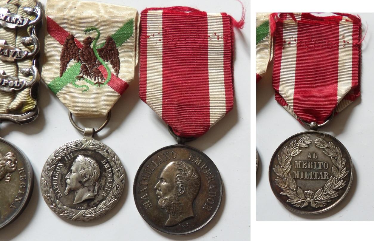 Médaille expédition du Mexique Deco
