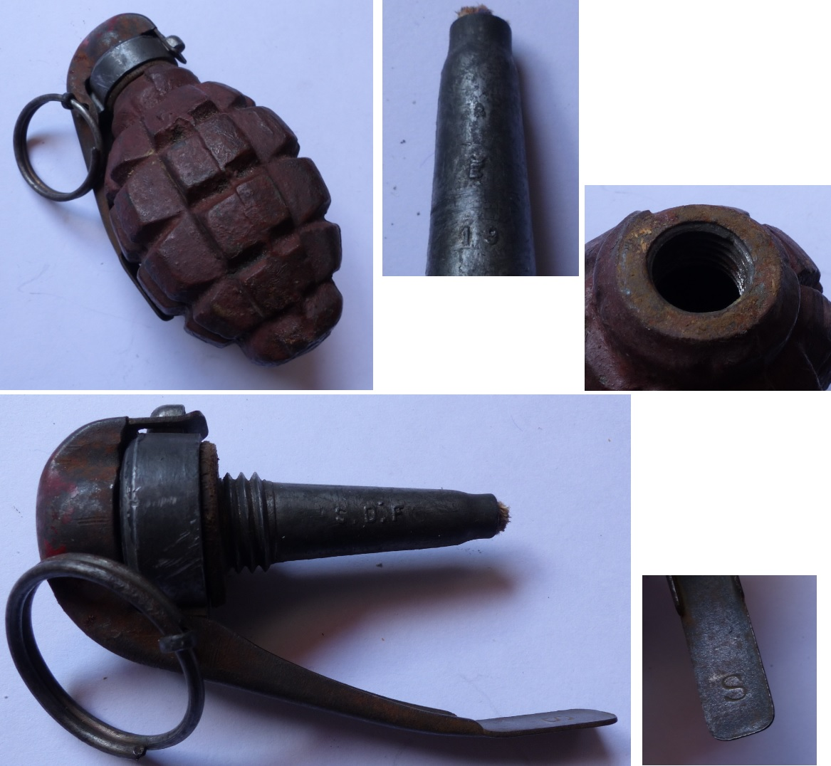 Grenade F1 modèle 1915 F1