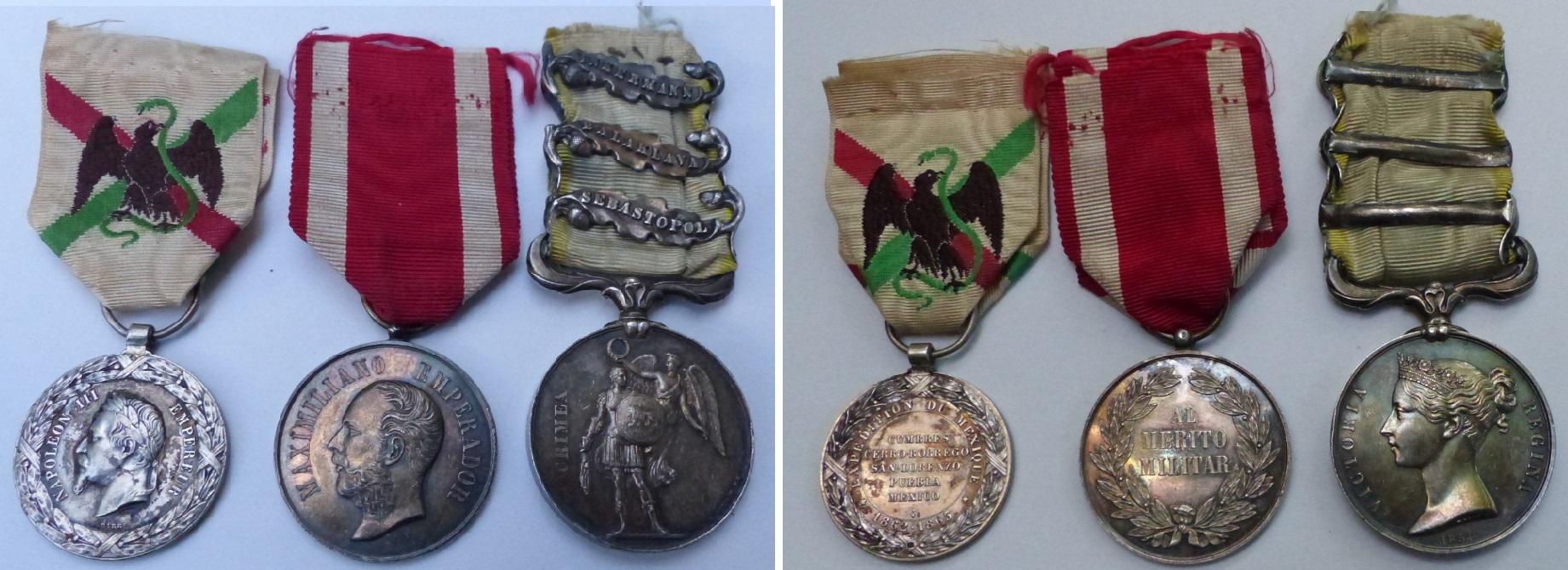 Médaille Crimée avec agrafe et ruban  Medd