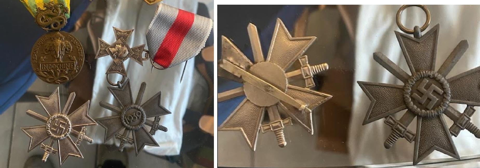 Authentification Croix du mérite 1ère classe Merita