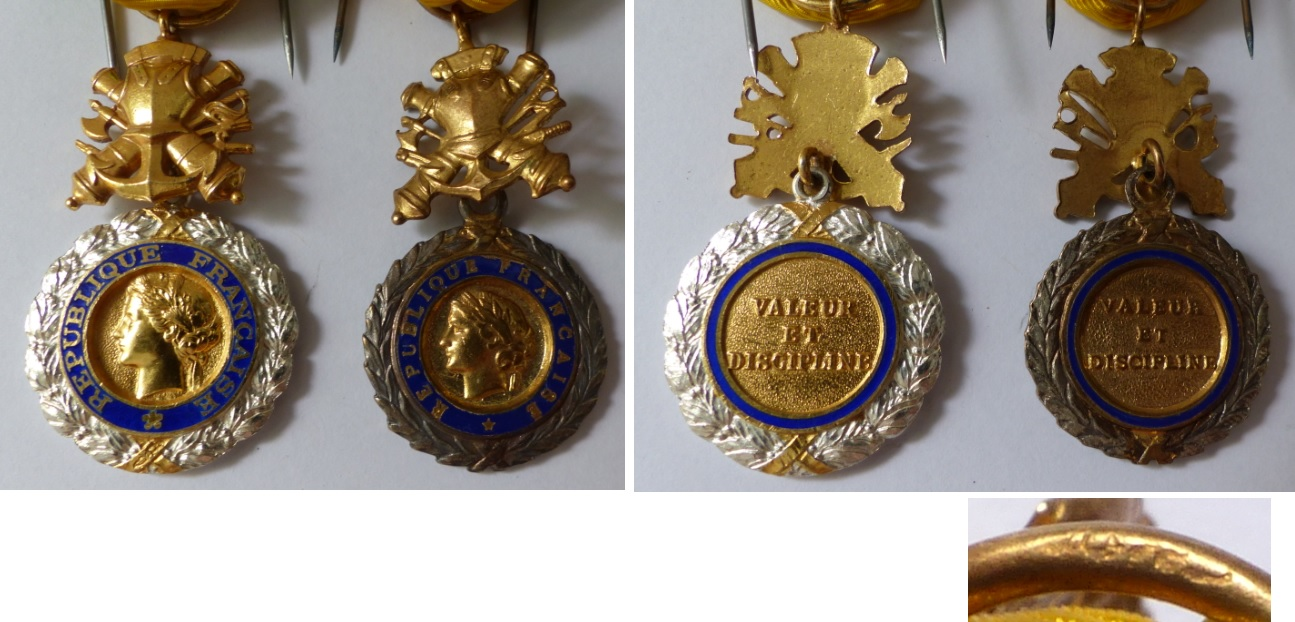 Médaille militaire, fabrication locale indochine ? Mm