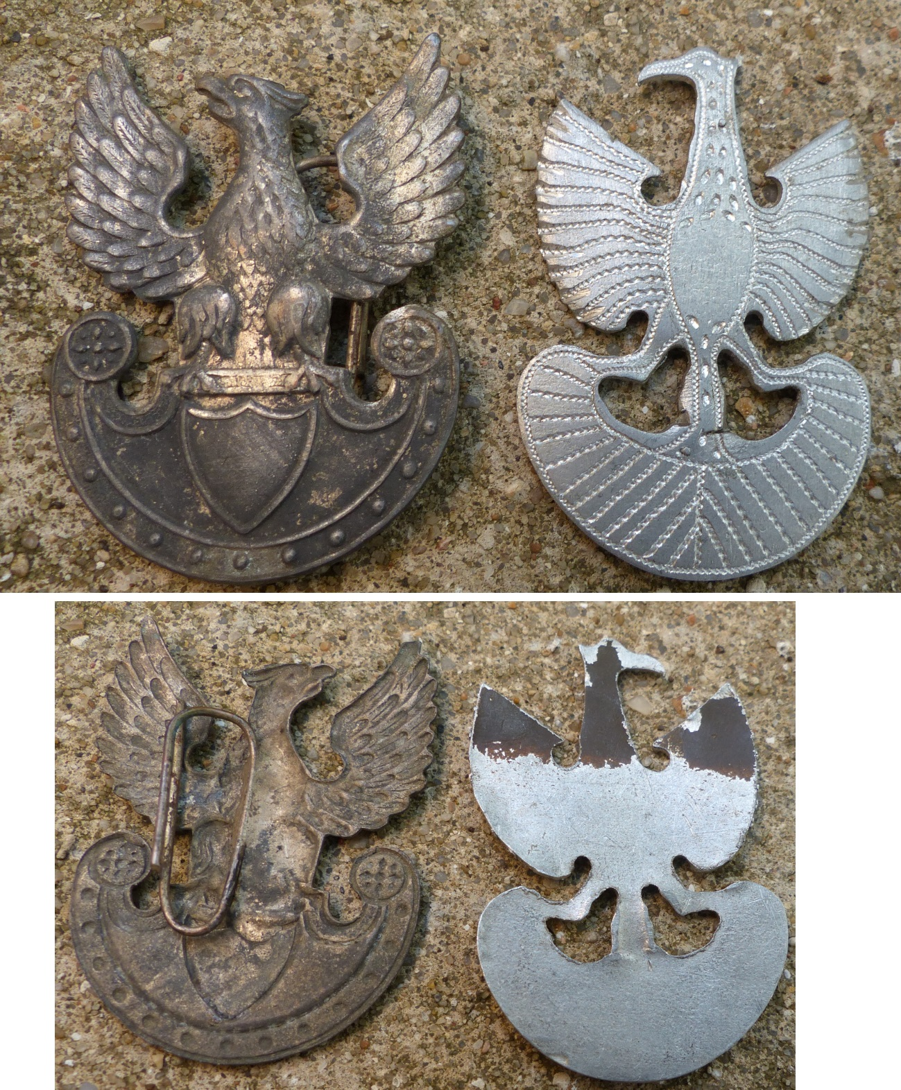 Insigne de képi- Pologne Pologne