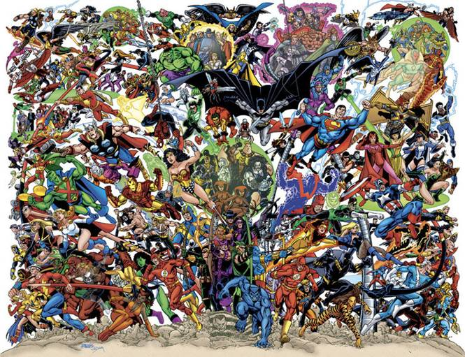 Marvel/DC A New Day