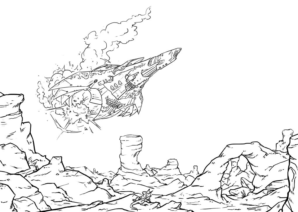 [Souscriptions Ulule] Vivere, Jdr Space Fantasy - Page 2 Vaisseauguilde-2