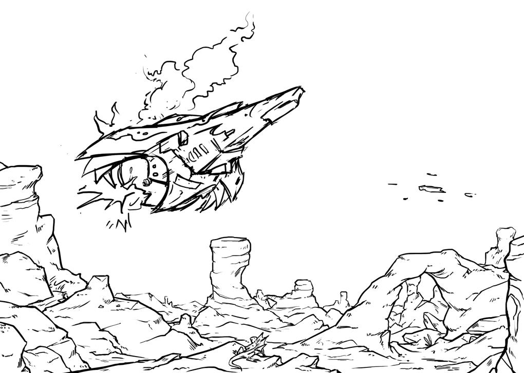 [Souscriptions Ulule] Vivere, Jdr Space Fantasy - Page 2 Vaisseauguilde