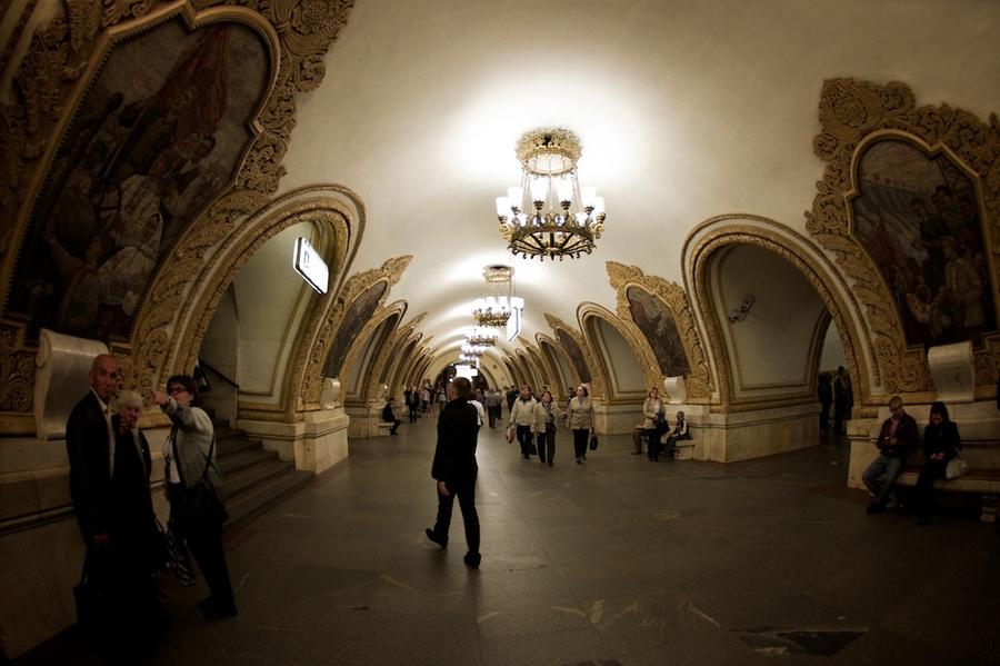 La belleza de las estaciones del Metro de Moscú Metro_moscu-4