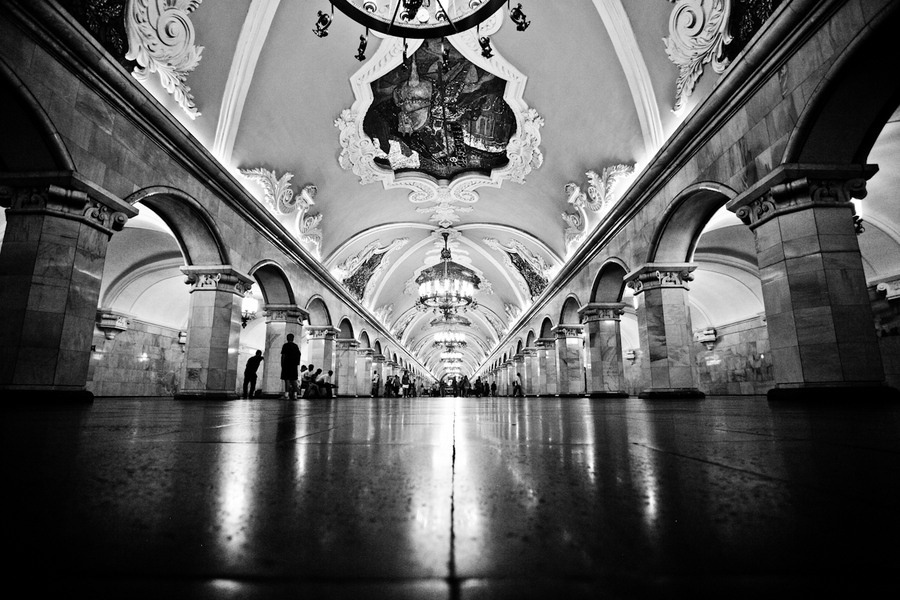 La belleza de las estaciones del Metro de Moscú Metro_moscu-5