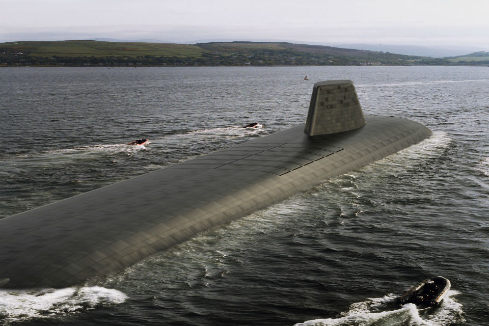 British Nuclear Submarine Service 3583223_original