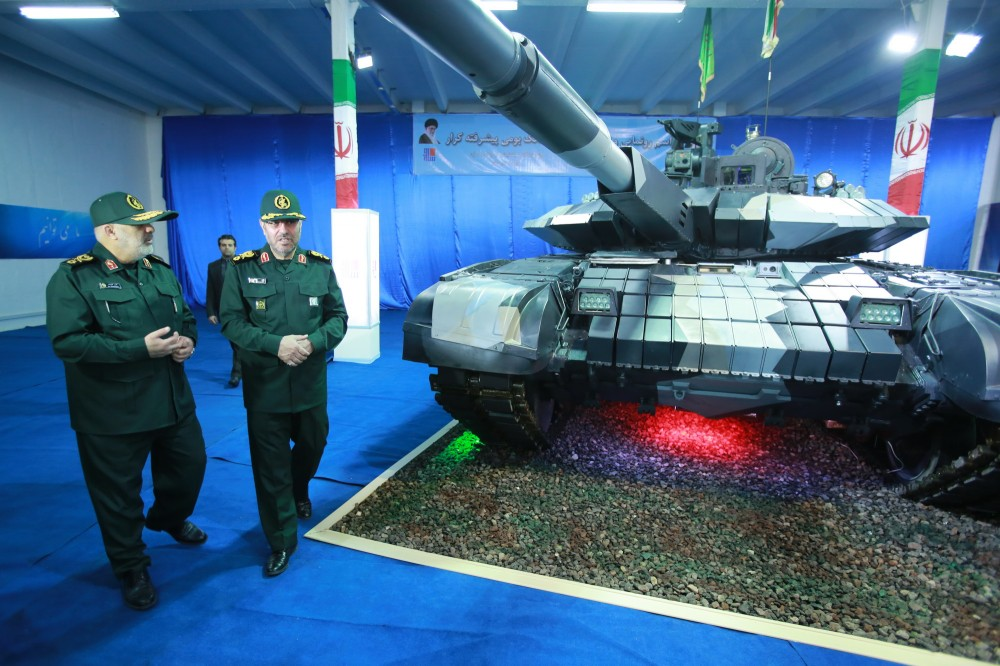 Irán presentó el tanque Karrar 1055251_1000