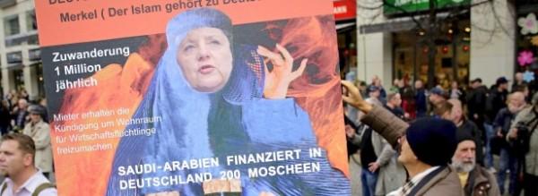 Антиправительственные протесты в Берлине 50790_600