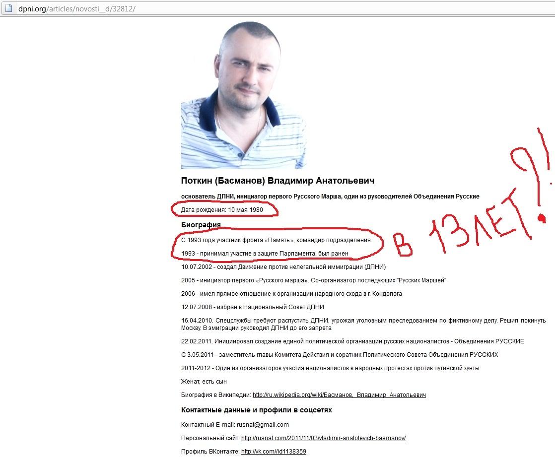 Владимир Поткин (Басманов) подвергся избиению и гнусному глумлению во Львове ! 17908_original