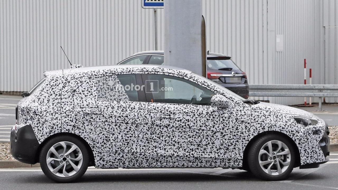 2019- [Opel] Corsa F [P2JO] 2018-opel-corsa-spy-photo