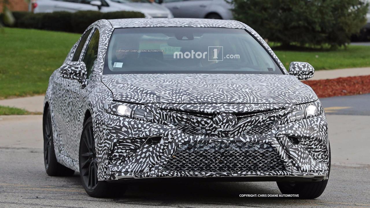 2018 - [Toyota] Camry 2018-toyota-camry-spy-photos