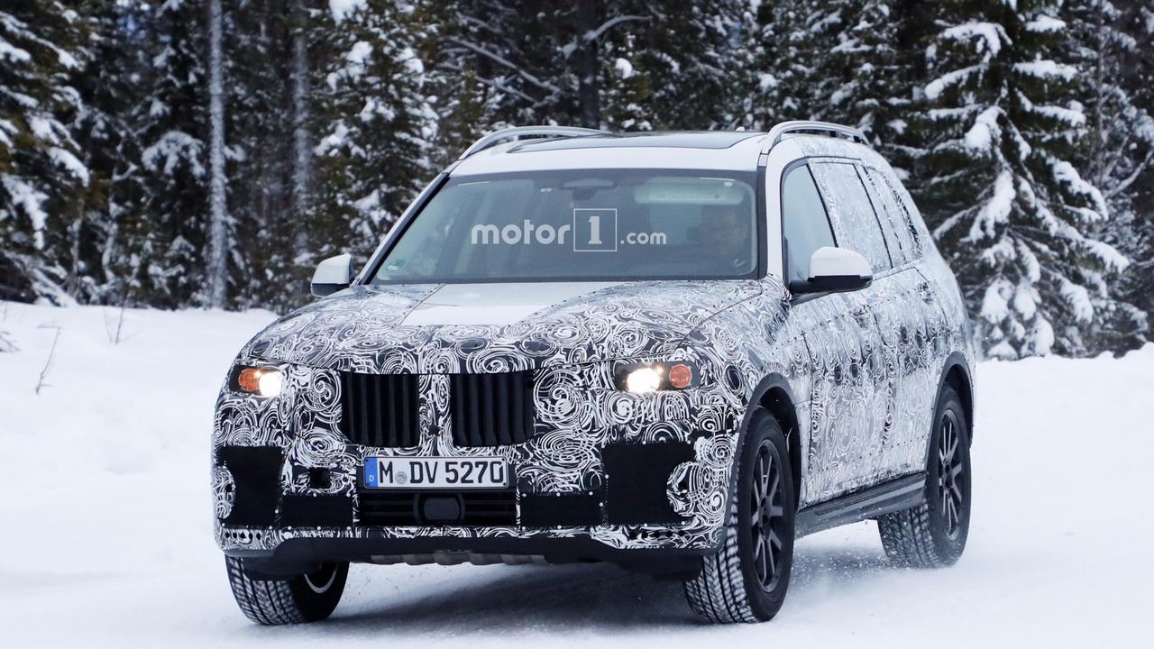 2017 - [BMW] X7 [G07] - Page 7 2018-bmw-x7-spy-photo