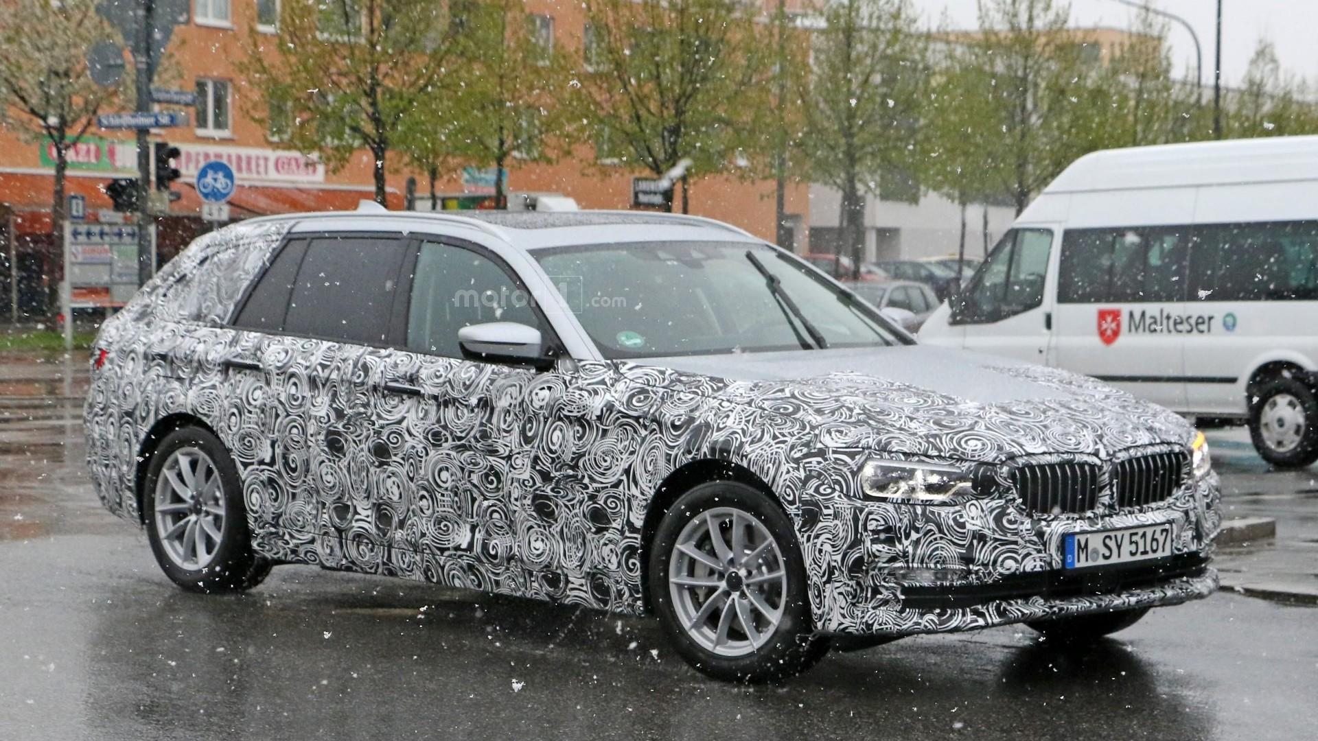 2016 - [BMW] Série 5 Berline & Touring [G30/G31] - Page 13 2017-bmw-5-series-touring-spy-photo